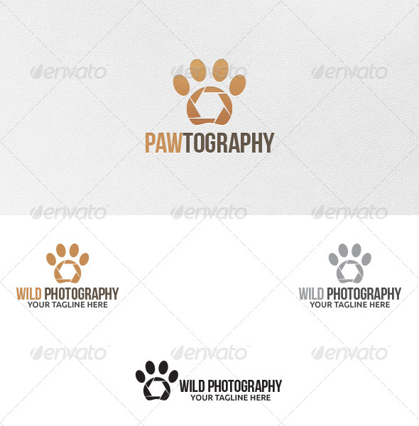 Wild Photography - Logo Template by martinjamez | GraphicRiver