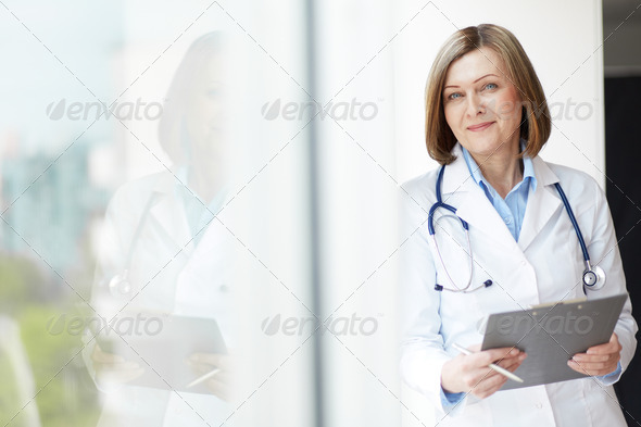 Friendly practitioner - Stock Photo - Images