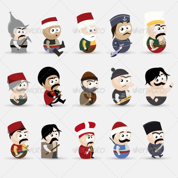 Cartoon People - People Characters