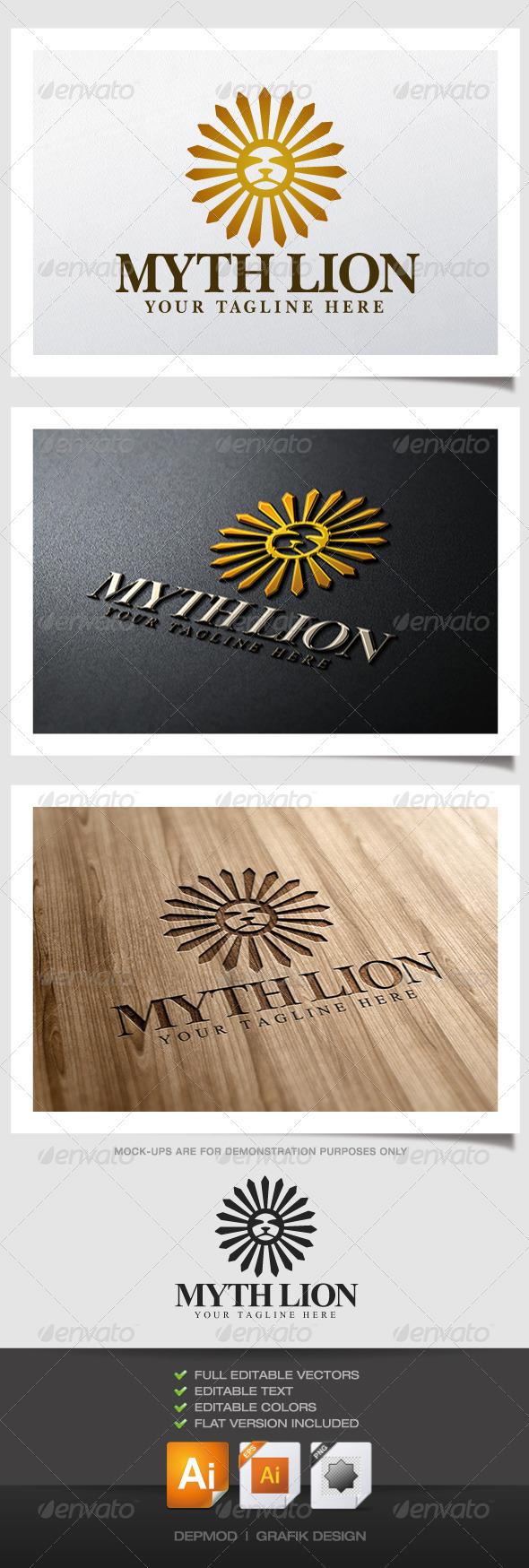 Myth Lion Logo