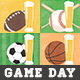 Game Day Sport Bar Flyer Template - GraphicRiver Item for Sale
