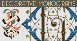 Decorative Monograms
