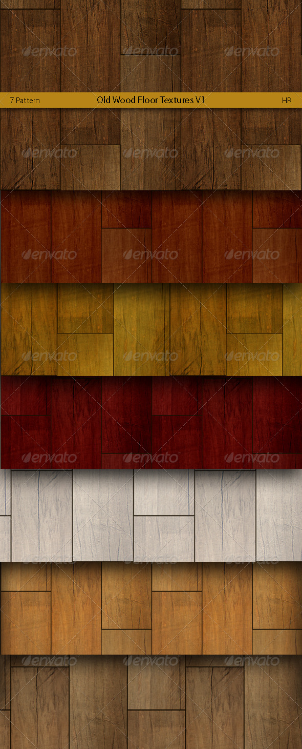 Old Wood Floor Surface Textures  - 3DOcean Item for Sale