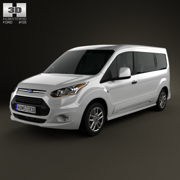 Ford Tourneo Connect 2014 - 3DOcean Item for Sale