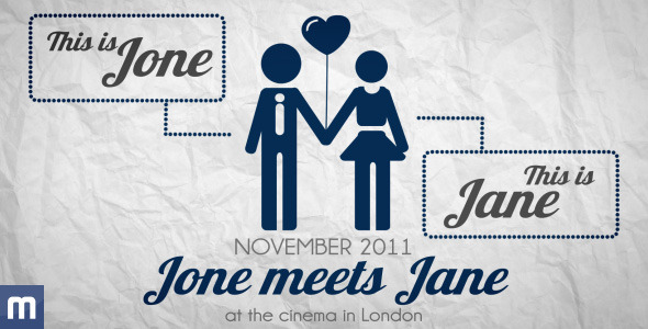 Save The Date Wedding Invitation by JBMotion – Wedding Save the Date Video