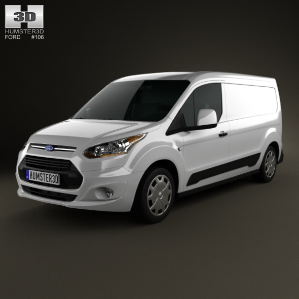 Ford Transit Connect 2014 - 3DOcean Item for Sale
