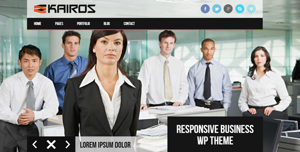 KAIROS-WP Responsive Multipurpose WordPress Theme