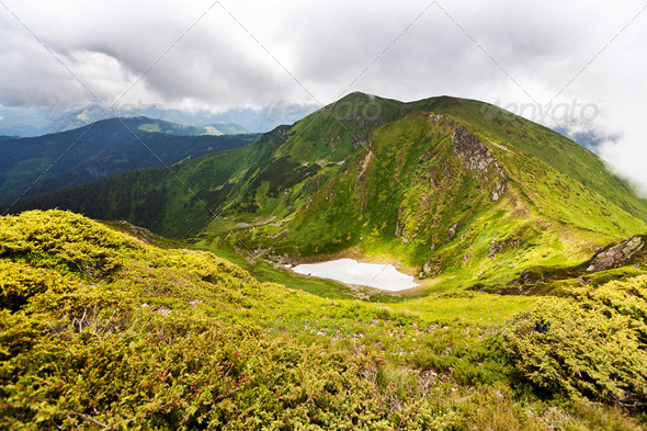 Carpathian mountains - Stock Photo - Images