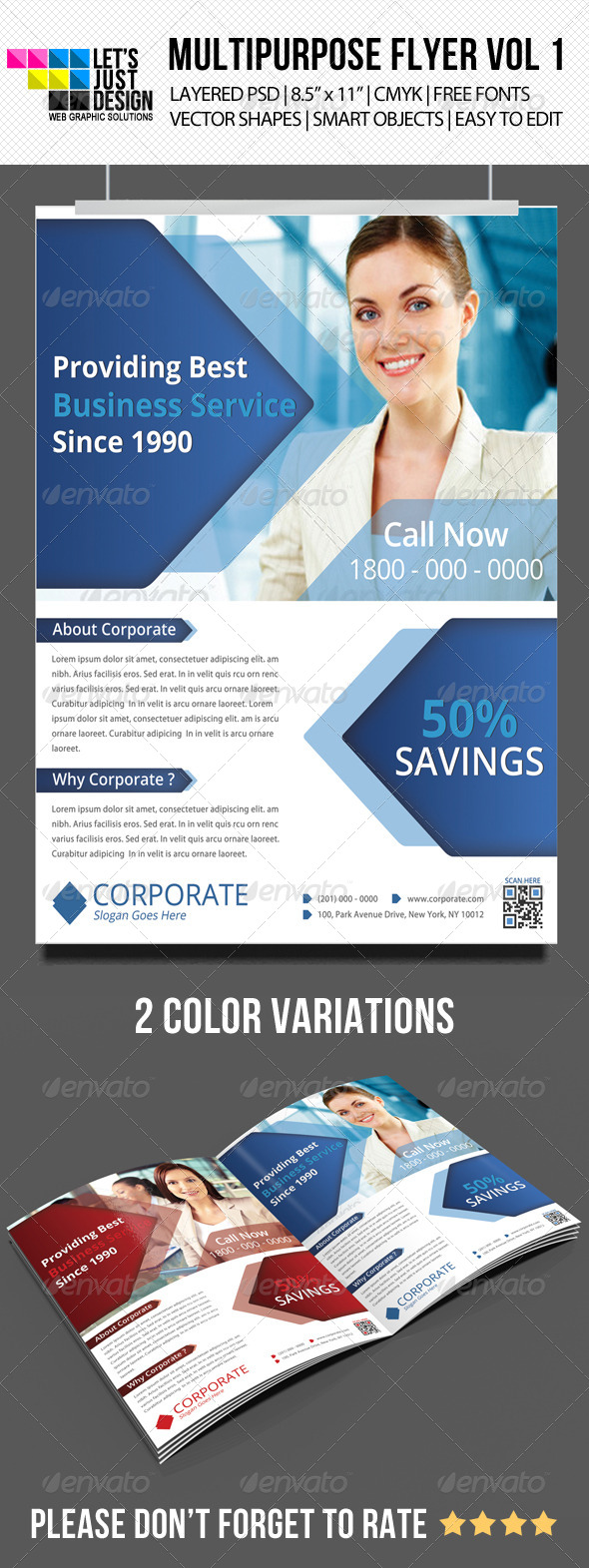 Multipurpose Corporate Flyer Vol 5 - Corporate Flyers