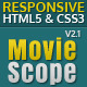 MovieScope -HTML5 & CSS3 Portal Template Nulled