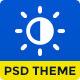 Day & Night Multi Purpose Creative Theme - ThemeForest Item for Sale