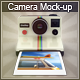 Vintage Camera Mock-Up - GraphicRiver Item for Sale