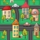 Suburbs and Houses - GraphicRiver Item for Sale