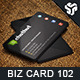 Business Card Design 102 - GraphicRiver Item for Sale