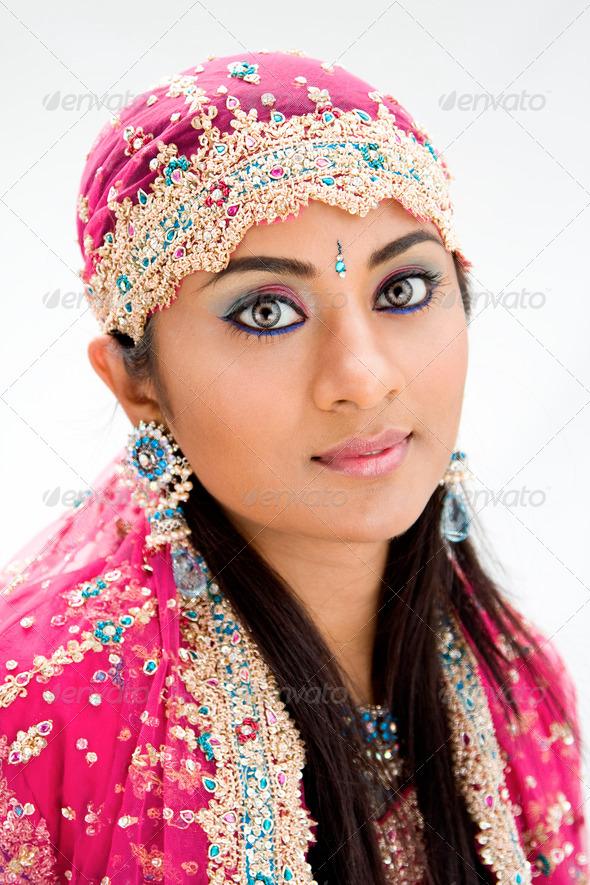 Beautiful Bengali bride - Stock Photo - Images