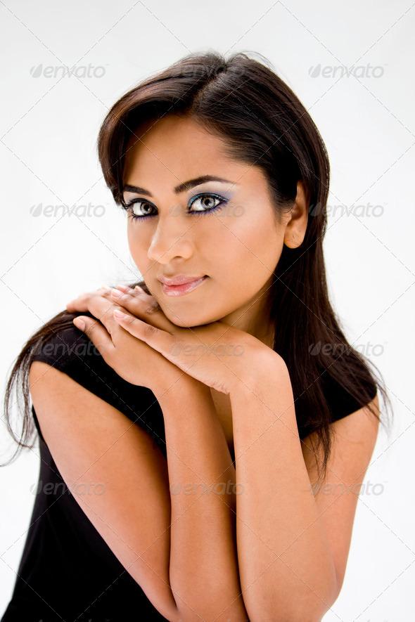 Beautiful Hindi woman - Stock Photo - Images