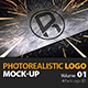 Photorealistic Logo 3D Mock-up Vol 1_Richhunter - GraphicRiver Item for Sale