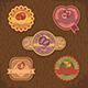 Vintage Fruit Labels - GraphicRiver Item for Sale