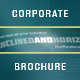 Horizontal Corporate Brochure - GraphicRiver Item for Sale