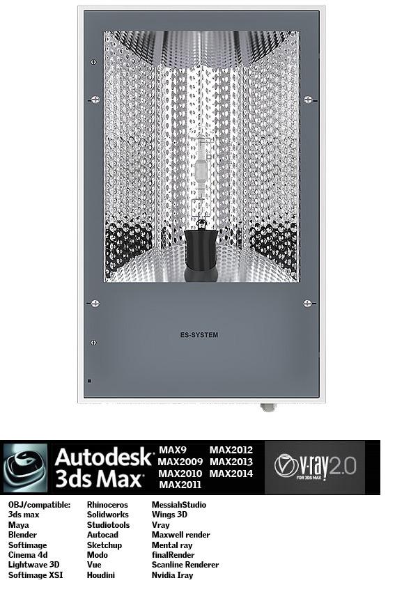 Industrial Lighting ES 3 - 3DOcean Item for Sale