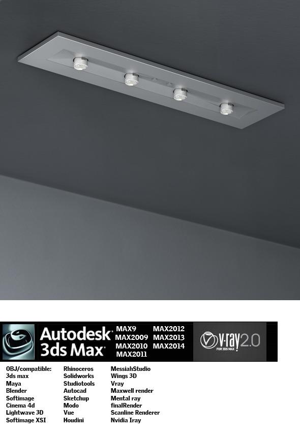 Industrial Lighting ES 18 - 3DOcean Item for Sale