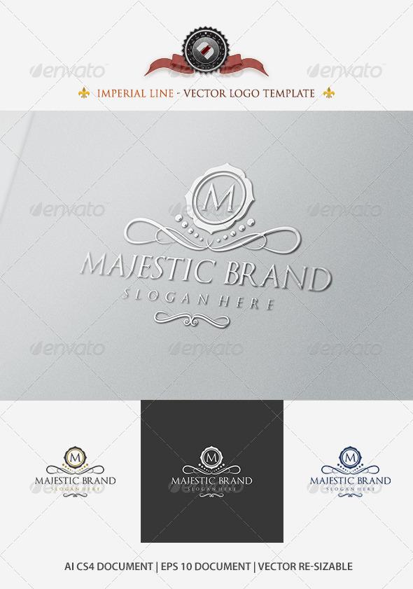 Majestic Brand Logo Template - Crests Logo Templates