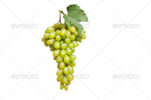 Tasty grape on a white - Stock Photo - Images
