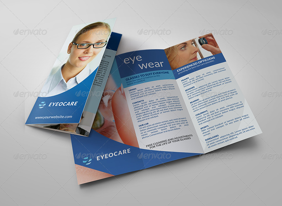 Optometrist & Optician Tri-Fold Brochure Template by OWPictures ...