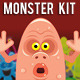 Monster or Creatures Creation Kit - GraphicRiver Item for Sale