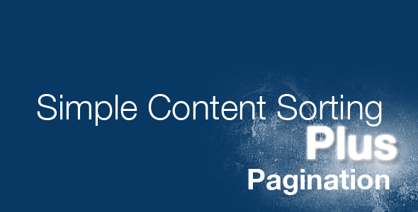 jQuery Simple Content Sorting Plus Plugin Nulled Scripts