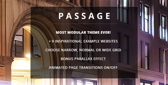 Passage – Responsive Retina Multi-Purpose Theme