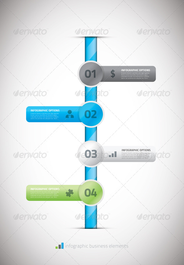 Infographic Business Timeline Template Vector Illu By MPFphotography - Timeline html template