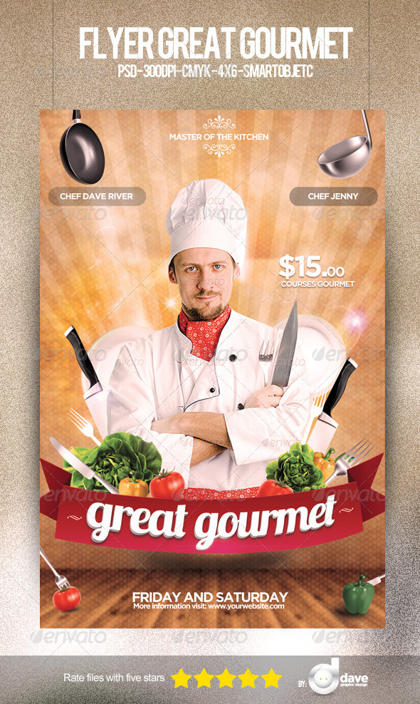 Flyer Gourmet