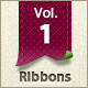 Web Ribbons & labels – Vol. 1 - GraphicRiver Item for Sale