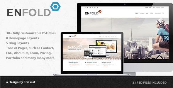 Enfold – PSD