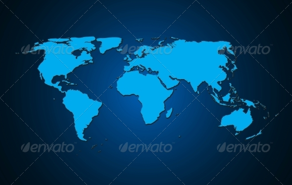 World map background vector illustration by yganko graphicriver world map background vector illustration computers technology gumiabroncs Choice Image