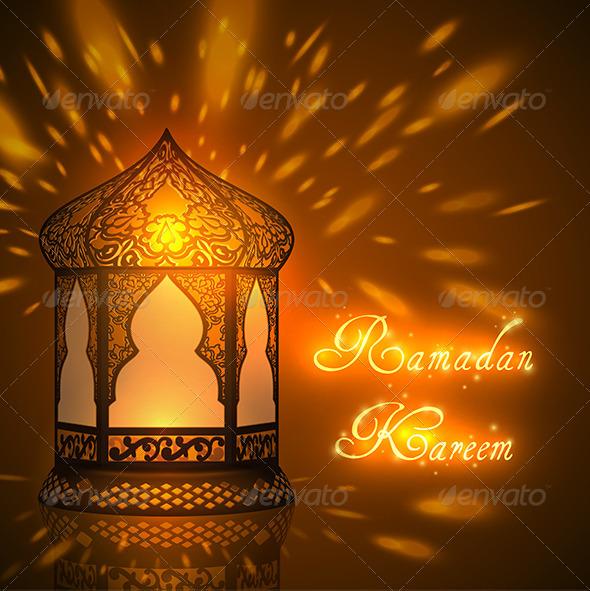 Ramadan Kareem Greeting Card - Religion Conceptual