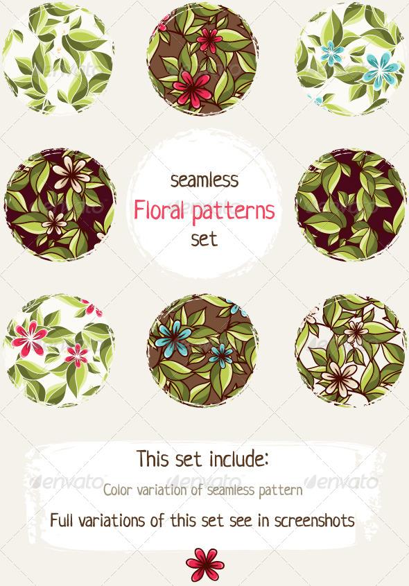 Floral Patterns Pack - Patterns Decorative