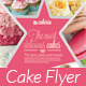 Cake Flyer / Magazine Ad - GraphicRiver Item for Sale