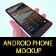 Android Phone Mockup