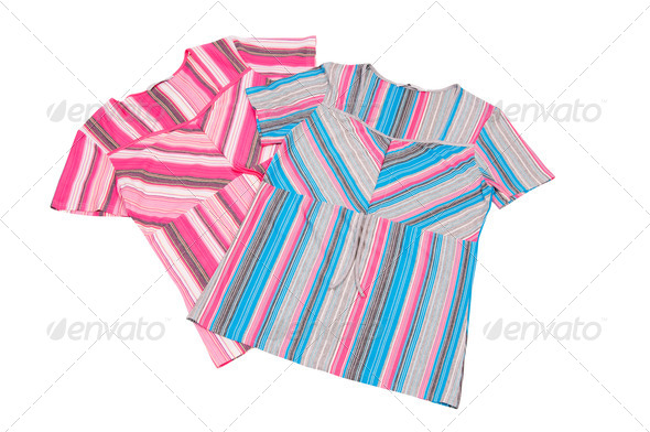 Two striped dress. - Stock Photo - Images