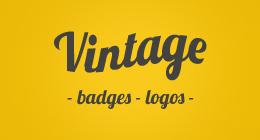 Vintage Badges Logos