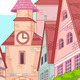 Little Europe town  - GraphicRiver Item for Sale