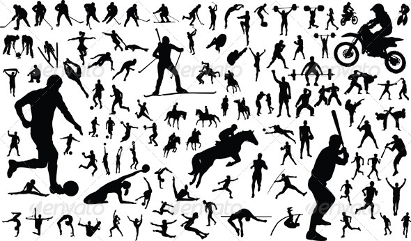 Sportsmen - People Characters