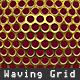 Waving Metal Grid loop - VideoHive Item for Sale