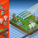 Isometric Thermo Solar Plant at Work - GraphicRiver Item for Sale