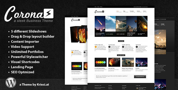 Corona – Business & Portfolio Theme