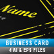 Grunge Business Card - GraphicRiver Item for Sale