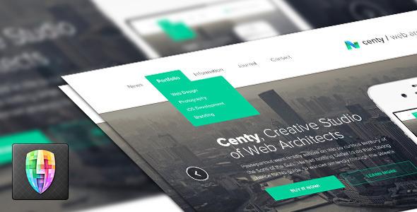 Centy - Retina Ready Responsive HTML5 Template