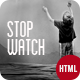 StopWatch - Coming Soon Html5 Template  Nulled